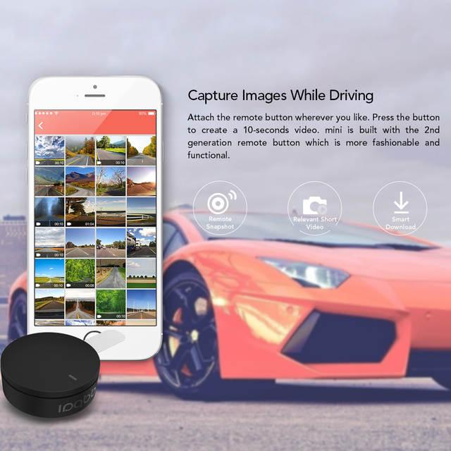 DDPai mini WiFi Dash Cam 1080P FHD Night Vision Car Camera DVR Wireless  Snapshot Auto Record Dashcam Rotatable Lens Car Recorder