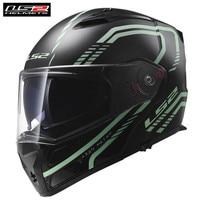 LS2 Firefly FF324 Motorcycle Helmet Touring Cruiser Modular Full Face Flip up Dual Visors Helmets
