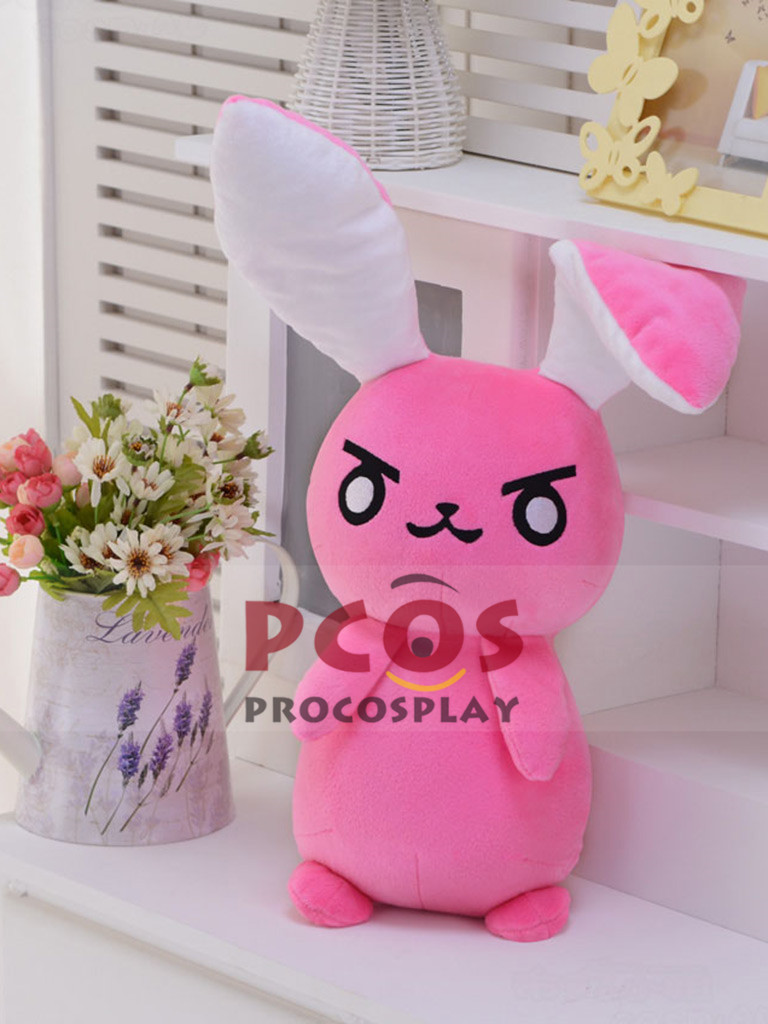 D.Va Hana Song Cosplay Plush Bunny Doll Gift mp003681