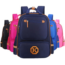 Britischen Stil Hochwertige Marke Schultaschen für Mädchen Und Jungen Schultasche Kinder Orthopädische Rucksack Schüler Tasche Geburtstagsgeschenk