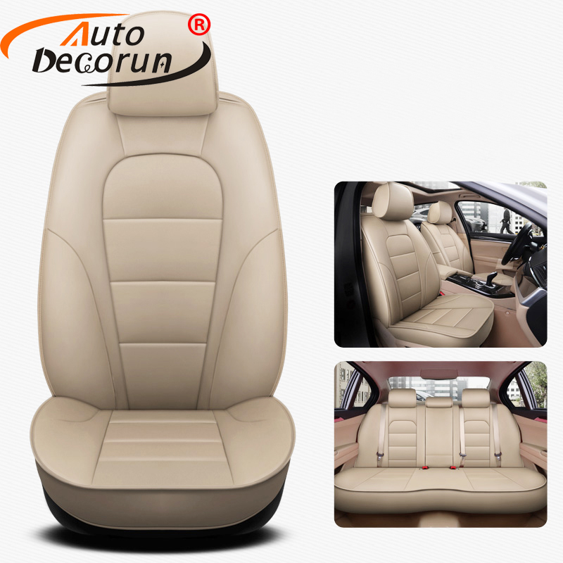 Autodecorun Seat Automobiles-Seat-Cover Car-Seat-Cushion-Accessories Ford Mondeo Custom