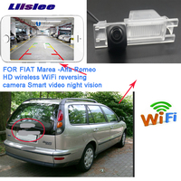 LiisLee car WIFI Rear View hd wireless Camera For Alfa Romeo156 159 166 147 2008 2016 For Alfa Romeo Brera Spider GTV 1995~2010