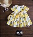 2016 hot summer girl vestido de moda casual cool respirável roupas de menina
