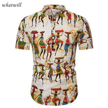 africa clothing fashion mens dresses shirts hip hop african clothes 3d dashiki robe africaine,camiseta masculina(China)