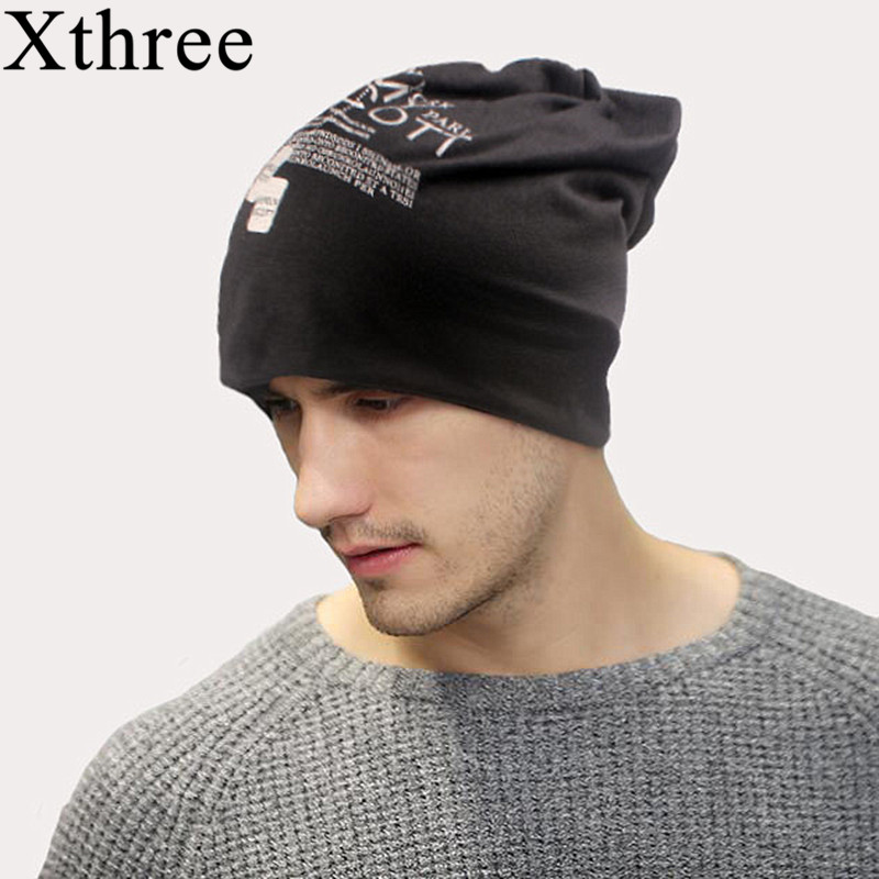 Xthree Beanies-Hat Cotton Balaclava Skullies Autumn Unisex Women Spring Thin for National-Flag