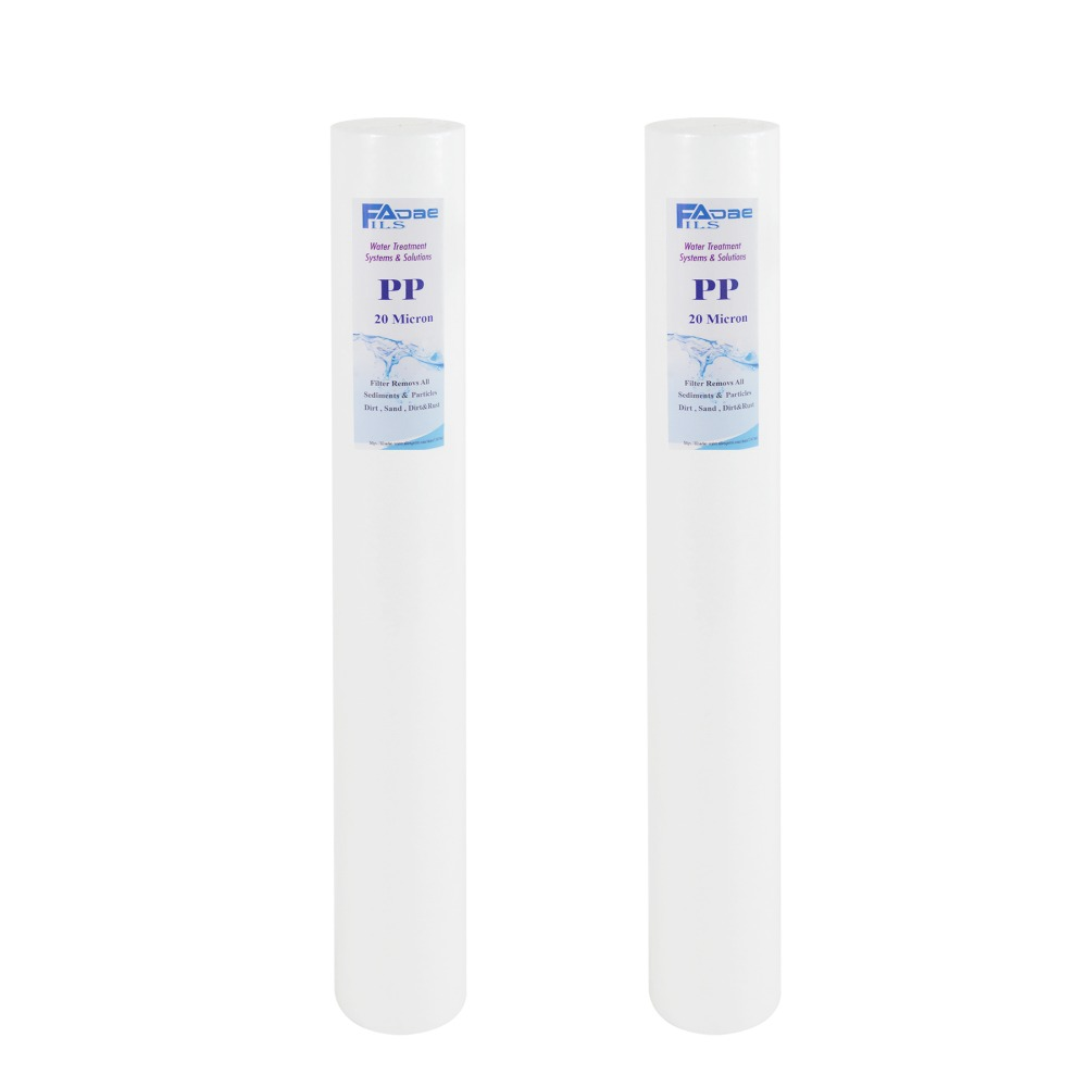 PP Sediment 20 x 2-1/2 Replacement Filter Cartridges 20 Micron - Melt-blown Polypropylene , Pack of 2 xintylink rj45 connector ethernet cable plug cat5 cat5e network connector 8p8c metal shielded modular terminals 1000pcs