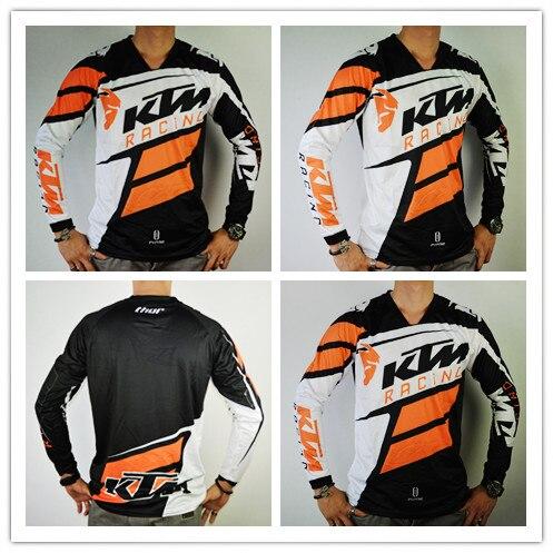 ktm motocross t shirt new arrival long sleeve men off road. Black Bedroom Furniture Sets. Home Design Ideas