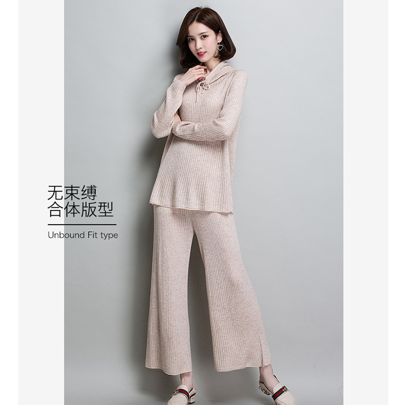 a63302b930d Limited Offer Twist Knitted 2019 spring New Women Two Pieces Sweater ...
