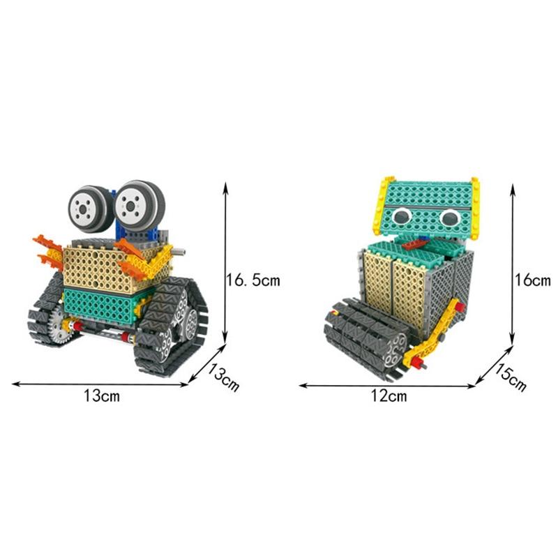 Tige bricolage Mars Robot bloc de construction électronique Science éducative jouets Kit apprentissage éducation jouets pour enfants cadeau - 4