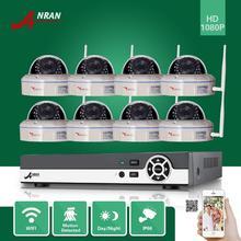 ANRAN Onvif 8-КАНАЛЬНЫЙ видеорегистратор HDMI 1080 P Беспроводной 30IR Открытый Водонепроницаемый Купол Видеонаблюдения Сети WI-FI Ip-камеры Системы Безопасности