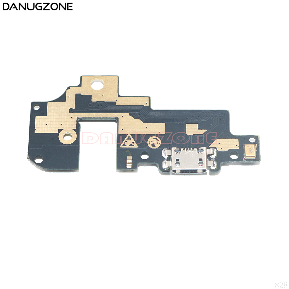 USB Charge Board Jack Dock Socket Plug Charging Port Connector Flex Cable With Microphone For ZTE Nubia M2 Lite NX573j