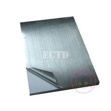 50 листов глянцевый серебристый ПЭТ стикер A4 297*210 мм водонепроницаемый для лазерного принтера