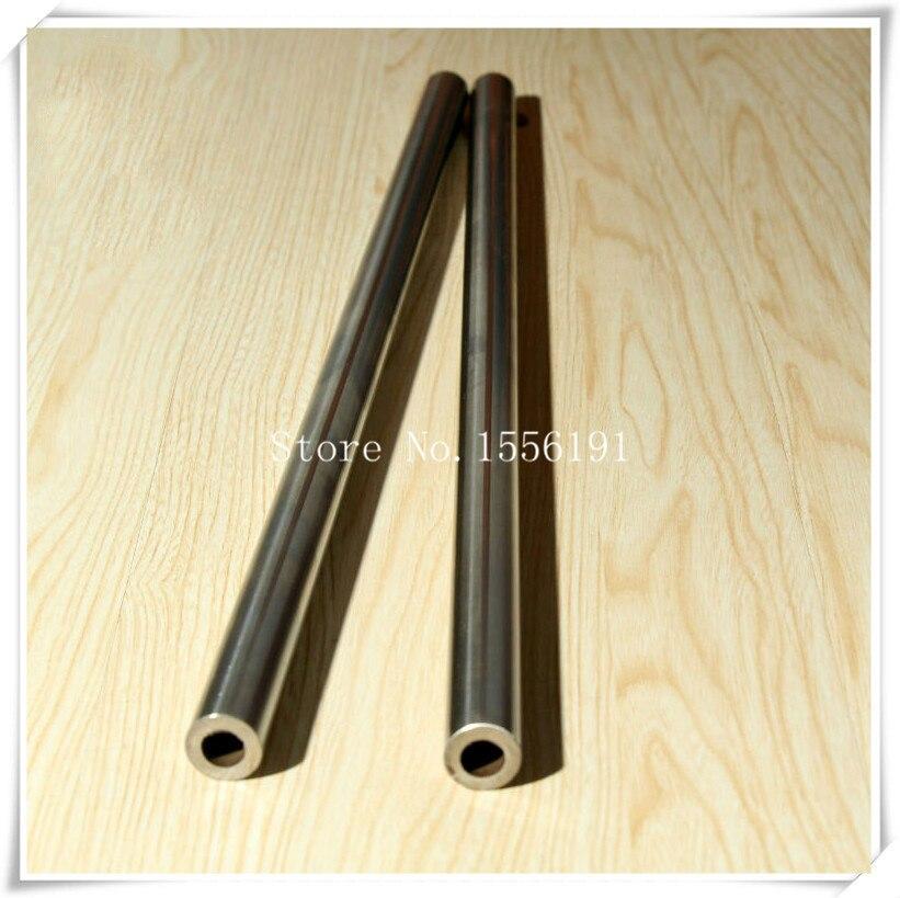 Axe de cylindre creux de 16*600mm, peut être 0.2 ~ 1 M rail de guidage d'arbre linéaire, roulements de mouvement de 16mm, tige éteinte, arbre chromé dur