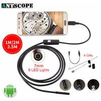 Endoscope 7mm 1M 2M 3 5M USB Android Camera Inspection Endoscope Camera IP67 USB Endoskope Camera