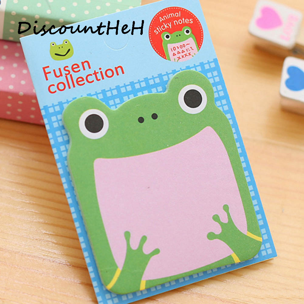 1Pcs Animale de desene animate Memo Pad Paper Sticky Notes Post - Blocnotesuri și registre - Fotografie 1