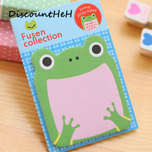 1Pcs Animale de desene animate Memo Pad Paper Sticky Notes Post Notepad Kawaii Papetarie Papeleria Scoala de gradina