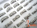 2016 Classic Rings,Fashion Jewelry Engagement Wedding Gift Rings Set 316L Stainless Steel