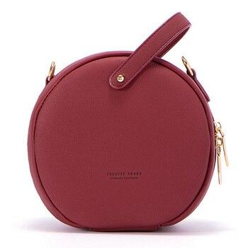 Γυναικεία στρογγυλή τσάντα