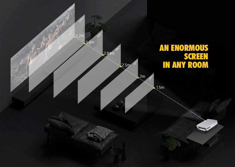 Excelvan Q6 Mini Portable LED Projector 1800Lumen Touch Panel Multimedia Video Projecyor Support 1080P HDMI VGA USB Home Theater (4)