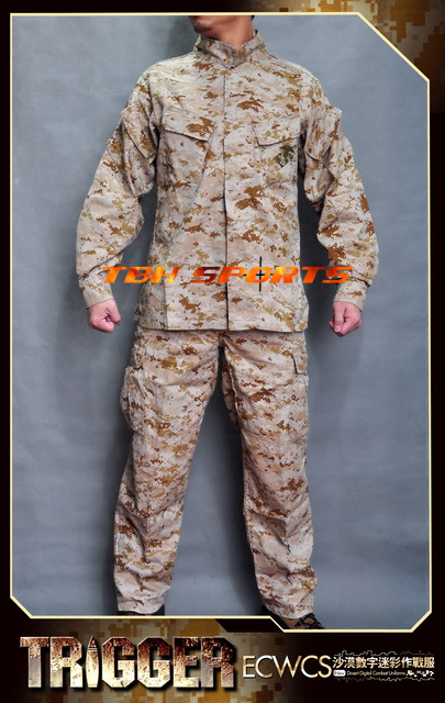 All Win Trigger USMC MCCUU Marpat Digital Desert Military Camouflage Suit+Free shipping(SKU12050232) ботинки usmc американской морской пехоты