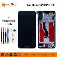 Для huawei P20 Pro ЖК дисплей с сенсорным экраном дигитайзер сборка для huawei P20 Pro Plus lcd CLT L09 L29 AL01 замена экрана