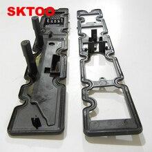 SKTOO воздухозаборник двигателя и выпускной клапан крышки камеры прокладки уплотнения для peugeot 307 308 408 для Citroen C5 sega Triumph 2,0