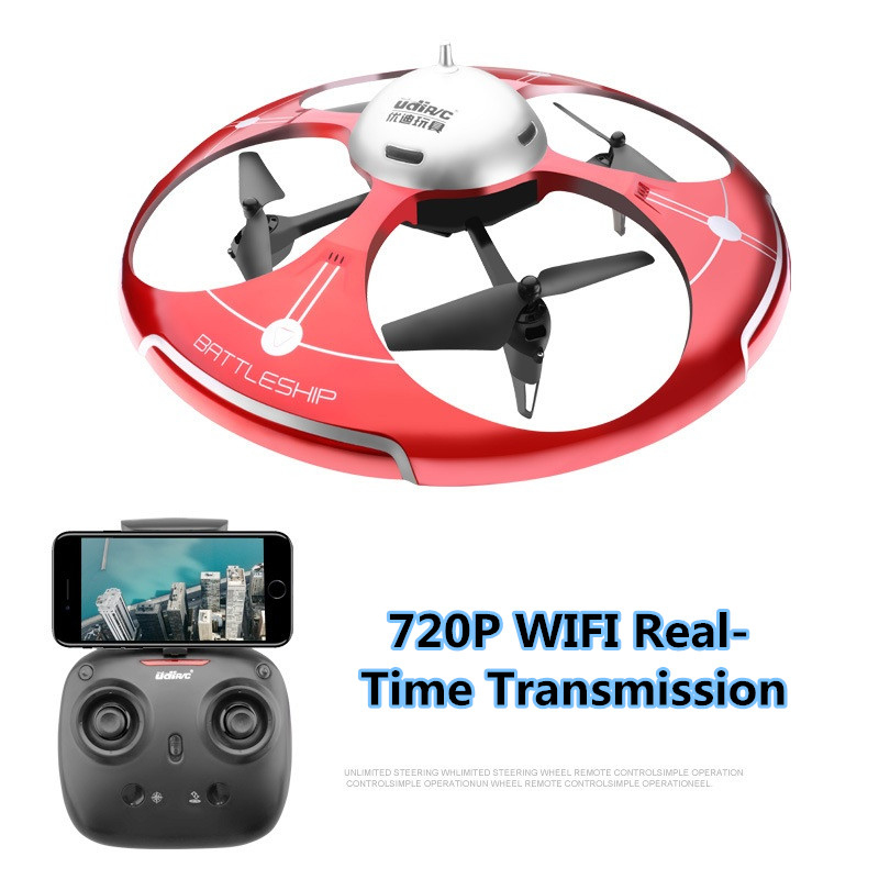 Large WIFI FPV UFO RC Drone I550HW 2.4G 45CM 6 Axis Altitude Hold FPV RC Quadcopter With 720P Full HD WiFi Camera add VR glass flytec t18d rc quadcopter mini drone 4ch wifi fpv 720p hd camera rc drones height hold mode 6 axis ufo rtf drone with camera