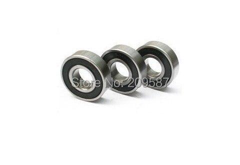 10 ШТ. 6001-2rs резина герметичный подшипник