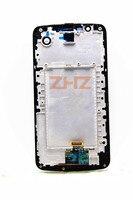 K10 LCD display with Frame For LG K10 LTE K420N K430DS K430DSF LCD Touch Screen Sensor Glass Lens Digitizer Panel