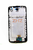 K10 LCD display with Frame For LG K10 LTE K420N K430DS K430DSF LCD Touch Screen Sensor Glass Lens Digitizer Panel