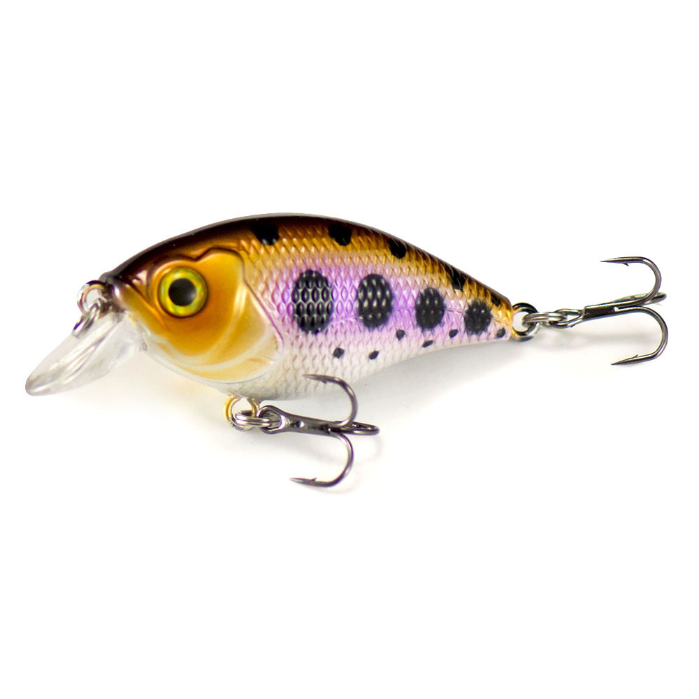 46mm 6.8g Countbass Floating Chatterbait Wobbler Lures for Fishing, Crank Bait Hard Plastic Lures for Salmon Trout Bass Pike-2