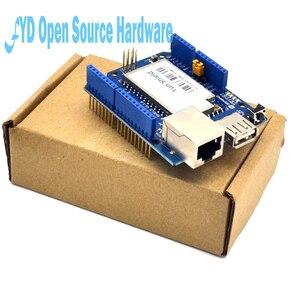 Image 5 - 1pcs Yun Scudo V1.6 Linux WiFi Ethernet USB Progetto per arduino