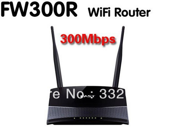 Free Shipping Fast FW300R 300Mbps Wireless 4-Port WIFI Lan Broadband Router  Without Retail Box