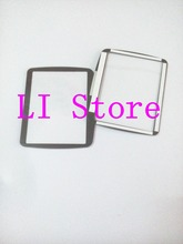 2 PCS New LCD Screen Window Display (Acrylic) Outer Glass For NIKON D80 Screen Protector + Tape