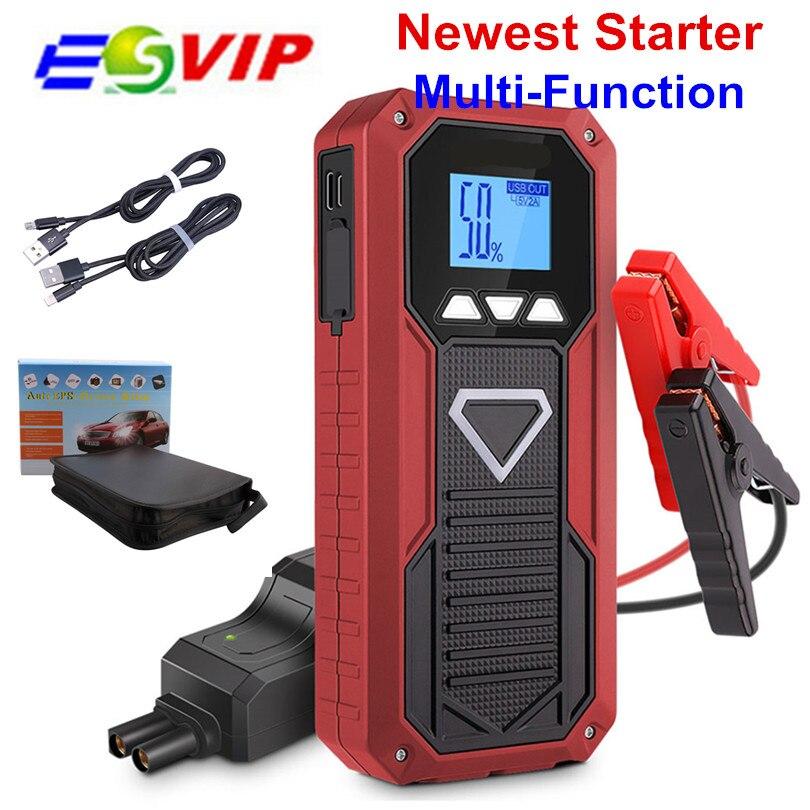 Démarreur de voiture Portable haute capacité E18 Booster 800A 12 V démarreur de voiture batterie externe démarreur de voiture pour chargeur de voiture Booster