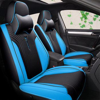 Luxury Leather Auto Universal 8 color Car Seat Cover Automotive,Car Styling For Renault Scenic Fluence Latitud Koleos Laguna Win