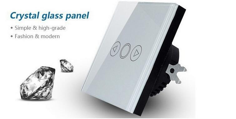 RF 433 MHZ UE Interruptor de pared Dimmer Regulador Alejado, casa Inteligente te