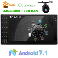 2 Din Android 7 1 GPS Navigation Vehicle Audio Double Din 7 Multimedia Receiver Car Radio