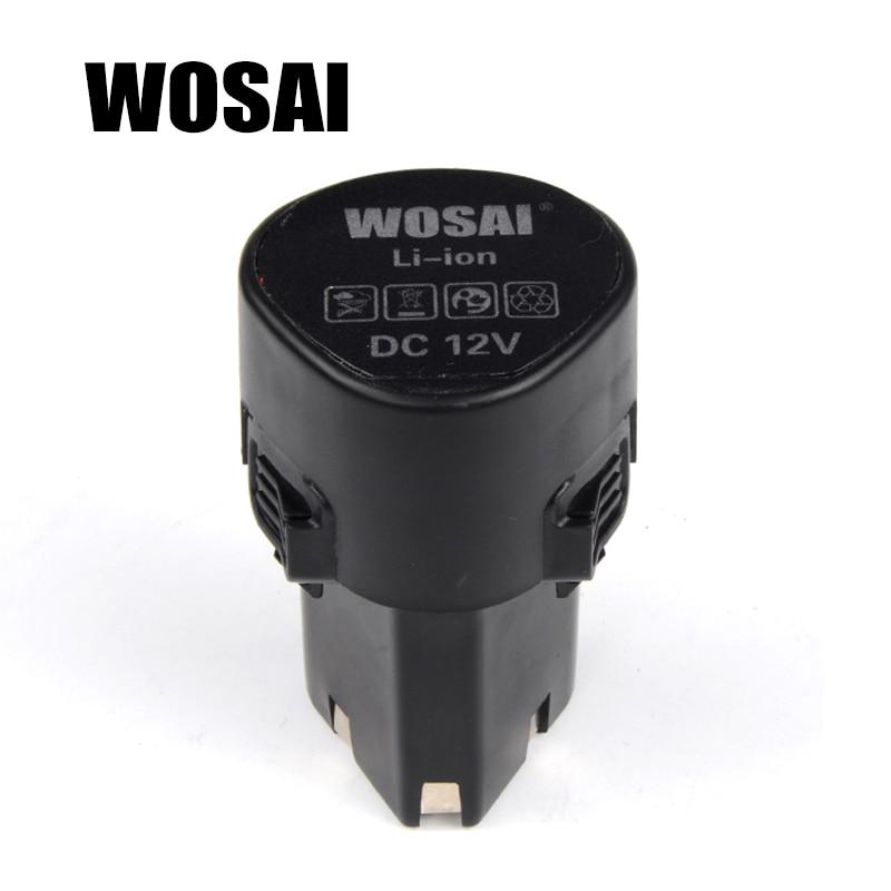 WOSAI 12 V Perceuse sans fil Batterie Au Lithium Batterie De Remplacement Applicables Forage Modèle WS-3005 WS-D5