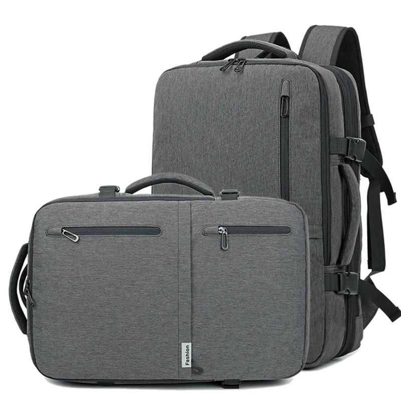 2020 Men Multifunction 17 Inch Laptop Bag For Male Waterproof Travel Handbags Large Capacity Casual USB Business Bags XA179ZC
