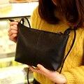 Hanup 2016 новая женская сумка качество pu кожаный мягкий лицо женщины сумка дикий плечо сумка Ватные оболочки мешок