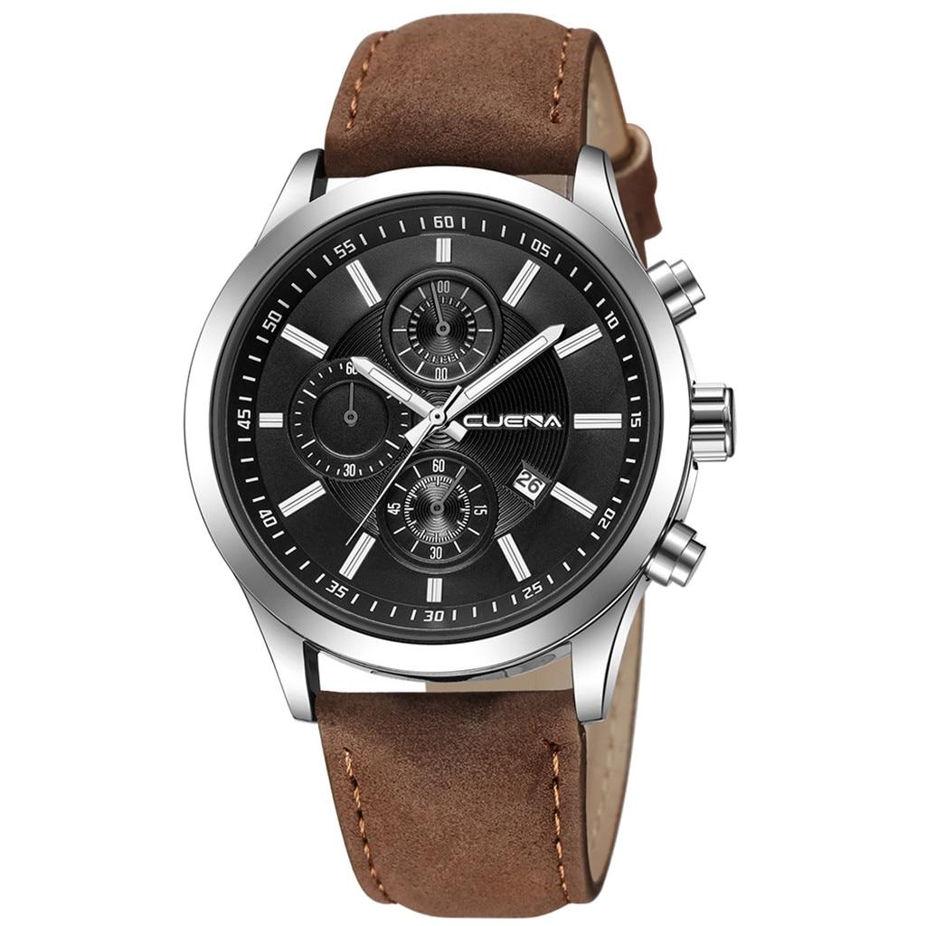 HTB1Wl6cajnuK1RkSmFPq6AuzFXa5 Fashion mens watches top brand luxury business sport quartz wrist watch leather watchband women watches ladies dress clock USPS