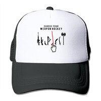 לשני המינים לבחור הנשק שלך בחוכמה הוקי כובע נהג משאית רשת כובע בייסבול Snapback