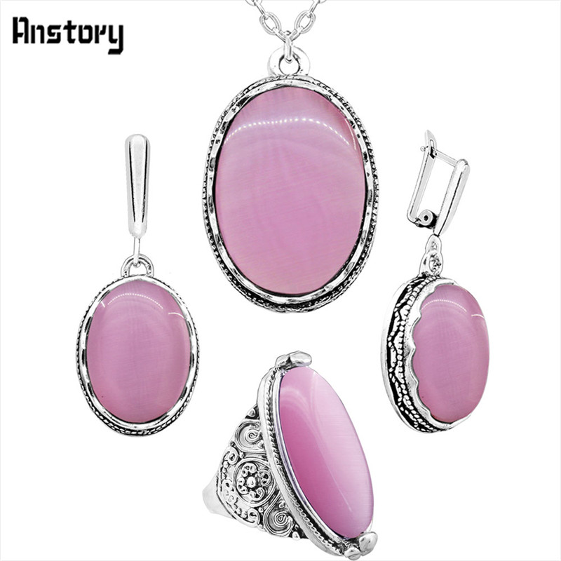 necklace set-Pink