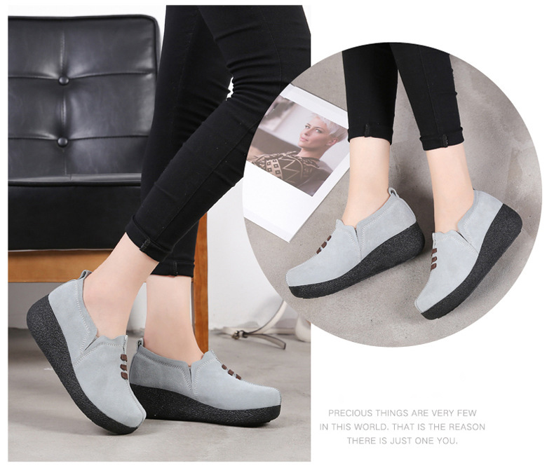 LL 3022-2019 Spring Autumn Women Wedge Shoes-17