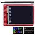 ЖК-дисплей с сенсорным экраном 2,0 дюйма, сенсорная панель с разрешением 176*220, с ручкой для Arduino UNO/ Mega2560 / Leonardo