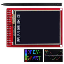 2.0 polegada tft lcd módulo de exibição tela toque placa escudo 176*220 resolução com caneta de toque para arduino uno/mega2560/leonardo