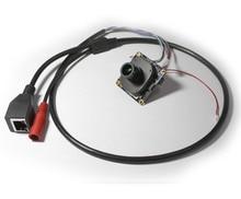 HD 2MP 1/2. 8 «sony IMX307 черный свет освещение Starlight CCTV IP камера Модуль IPC печатной платы + объектив