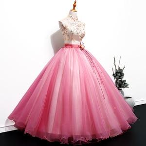 Image 5 - ヴィンテージ quinceanera のドレス 2018 新夫人勝利刺繍ボールガウンの古典的なパーティーウエディングフォーマルローブ · ド · 夜会 quinceanera のドレス