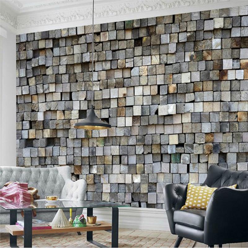 beibehang Custom Photo Brick Wall Wallpaper 3D Wall Murals ...